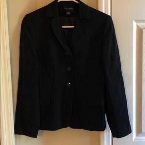 Ann Taylor black lightweight blazer 2P